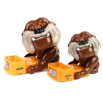 New Be Careful Bulldog Most Industries Scary Toys The Hot Dog Style Desktop Parent-child Game
