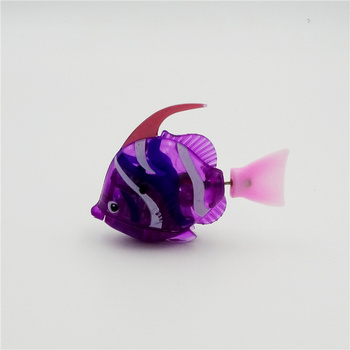 2020 New Смешни Swim Electronic fish Activated Battery Powered Toy Pet for Fishing Tank Decorating Fish Фенер water toys