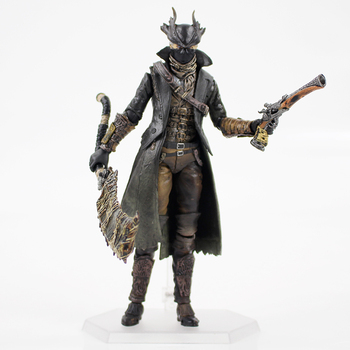 Гореща Игра Action Figure Bloodborne Hunter With Gun Sword Weapons Model Toys