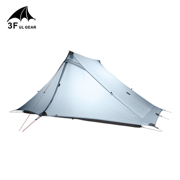 3F UL GEAR Lanshan 2 pro Tent Outdoor 2 Person Ultralight Camping Tent 3 Сезон Professional 20D Silnylon Rodless Tent
