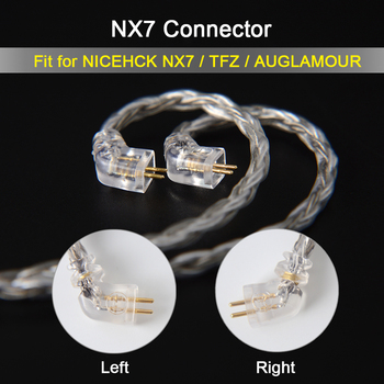 NICEHCK C16-4 от 16-ядрени посеребренный кабел 3.5/2.5/4.4 mm Plug MMCX/2Pin/QDC/NX7 Пин за QDC C12 ZSX V90 TFZ NX7 Pro/DB3/F3/BL-03