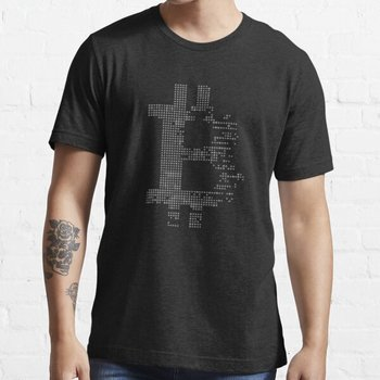 Bitcoin Cryptocurrency cryptocurrency Grey STRING мъжка мода Breaking Bad t Shirt тениска с къс ръкав Tee Битник Tops